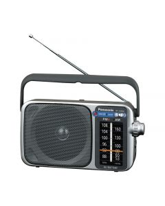 Panasonic Portable Radio AM/FM (RF-2400DGN-S)