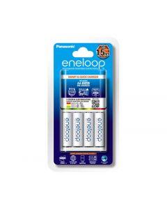 Panasonic Eneloop Quick Charger With 4AA Batteries (K-KJ55MCC4TA)