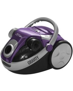 Cleanstar Gravity 2200w Dual Cyclonic Bagless Vacuum Cleaner - Purple (V2200-P)