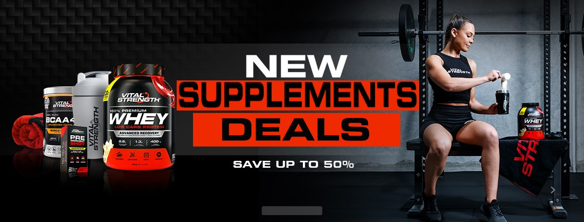 Fitness, Muscle & Nutrition Supplements